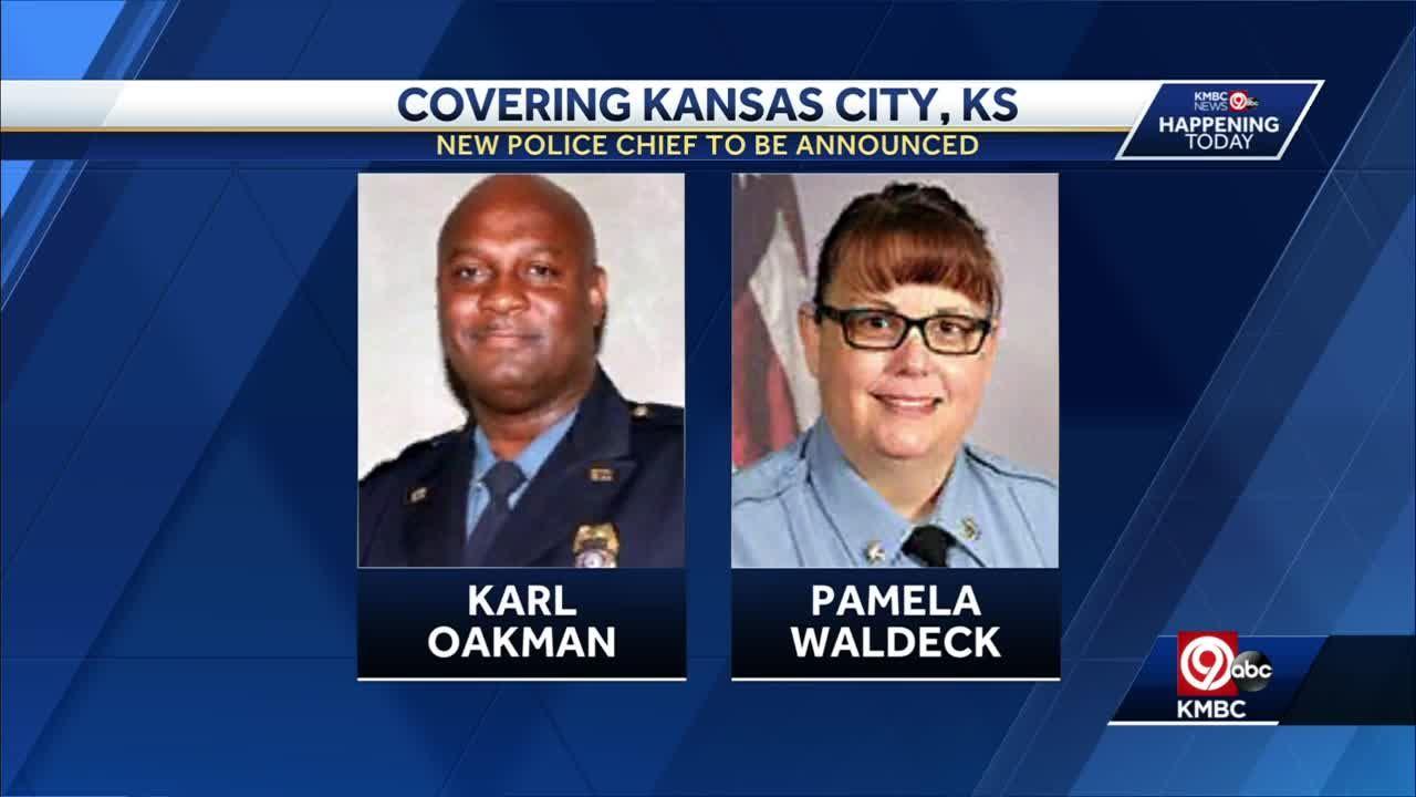 KCPD's deputy chief Karl Oakman named new Kansas City, Kansas, police chief