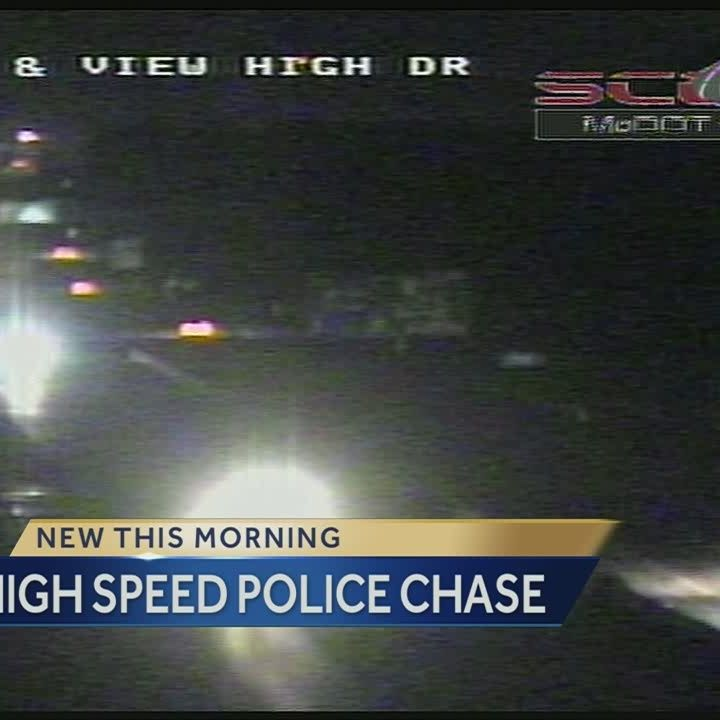 High speed police chase ends in front of KC Police headquarters