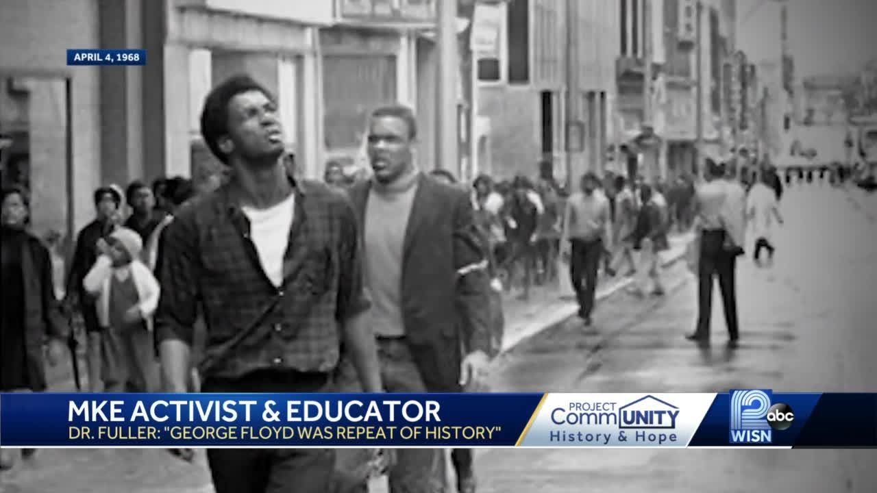 Civil rights leader: Young people should 'continue to fight' for social justice