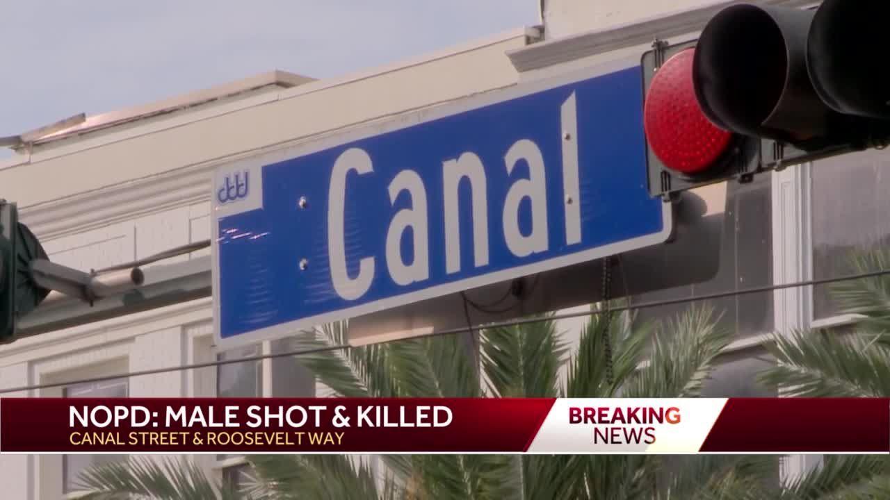 Man shot, killed in downtown near Canal Street