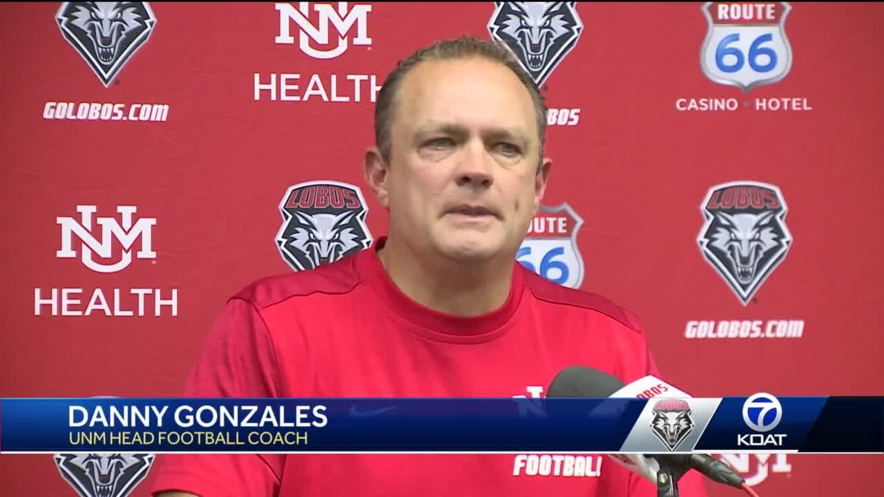 Danny Gonzales holds preseason press conference