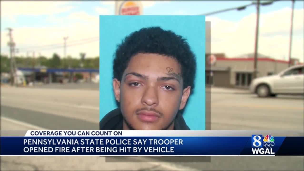 Police look for man accused of hitting trooper with car in Lancaster County