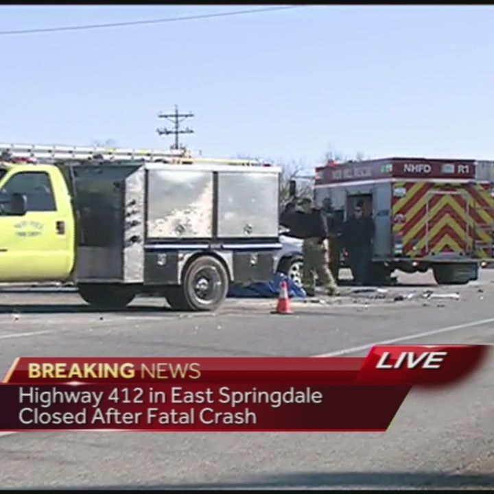 Breaking News Hwy 412 fatal crash