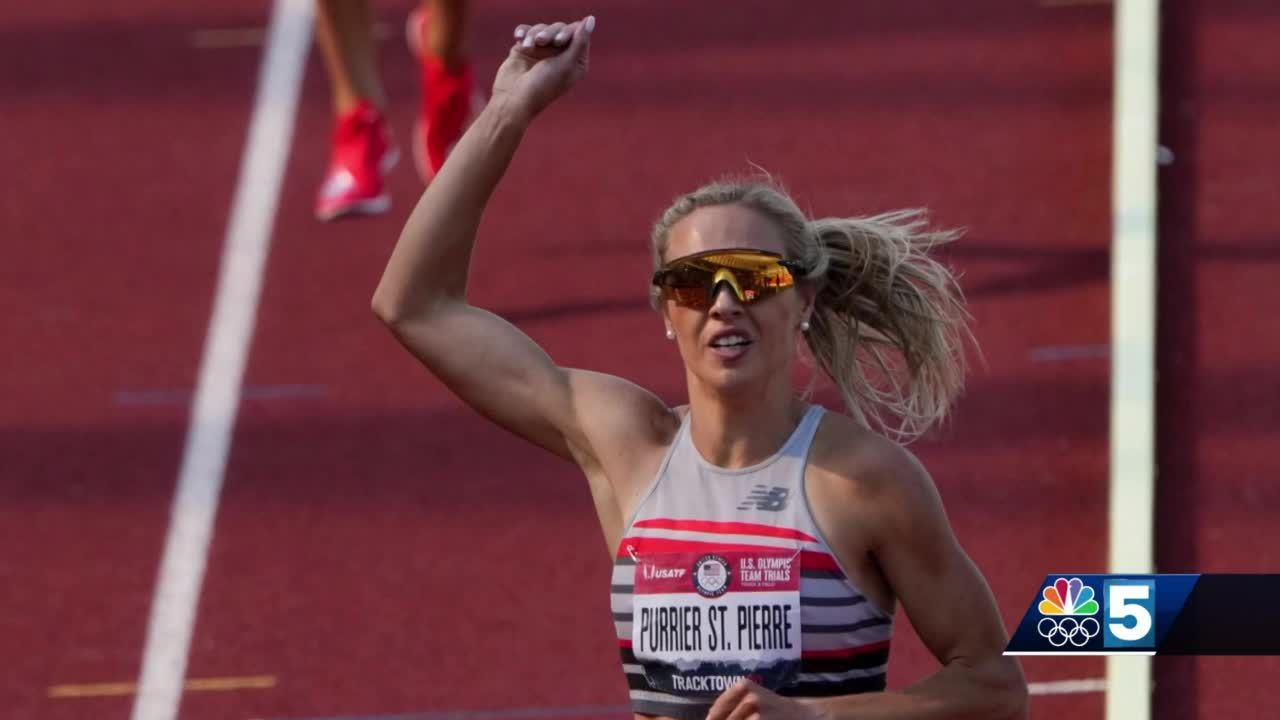 Elle Purrier St. Pierre's hometown cheers big win in qualifier
