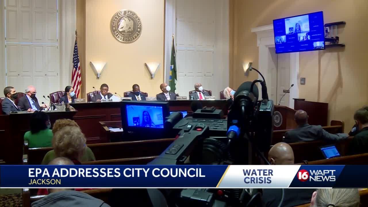 EPA meets with Jackson City Council