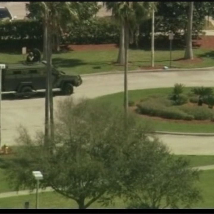 Gunman outside Brevard County courthouse killed in SWAT standoff