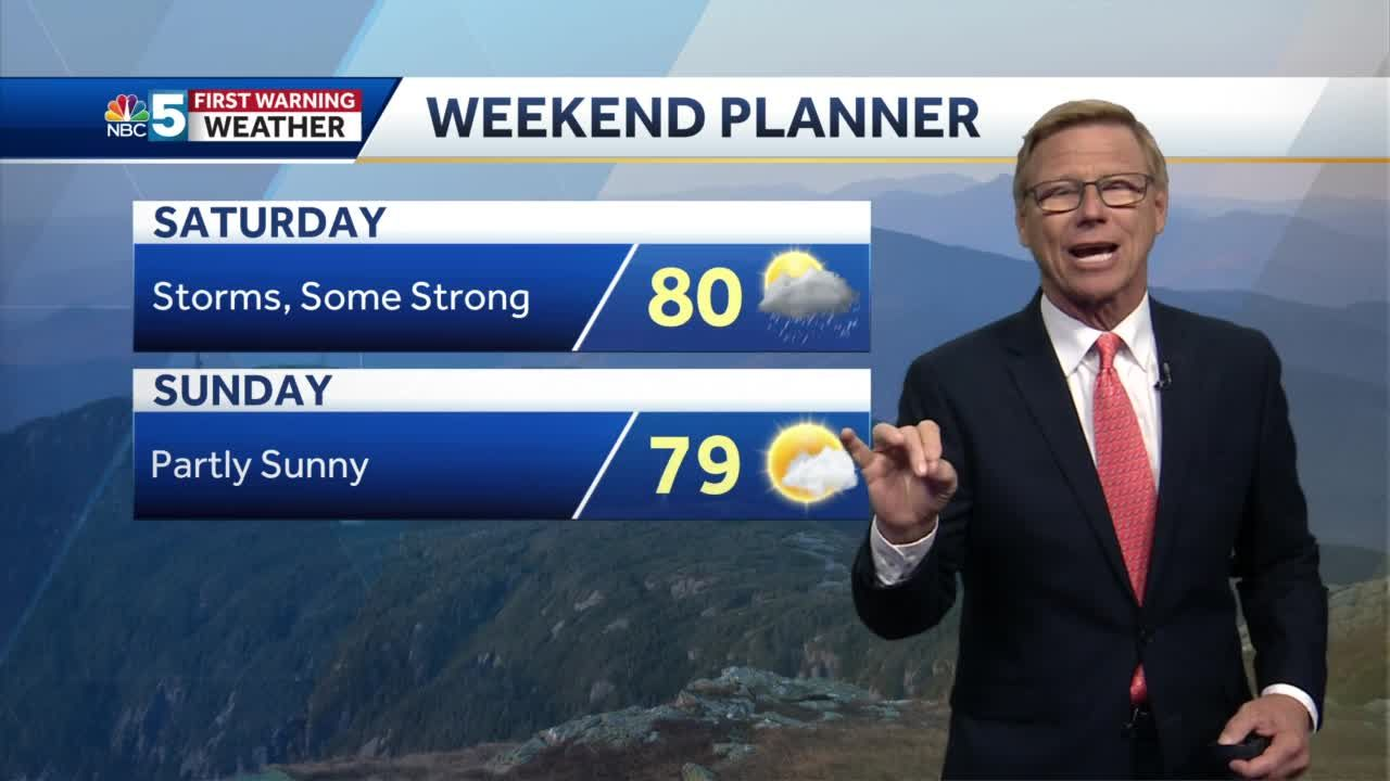 Video: Tom Messner says to expect more sun Thursday. 6.16.21