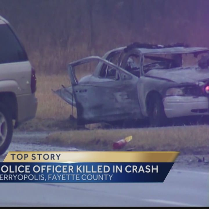 Police officer killed in Fayette County crash