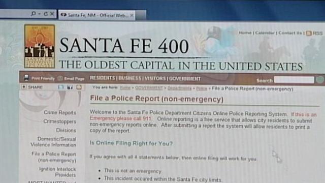 Santa Fe police reports online