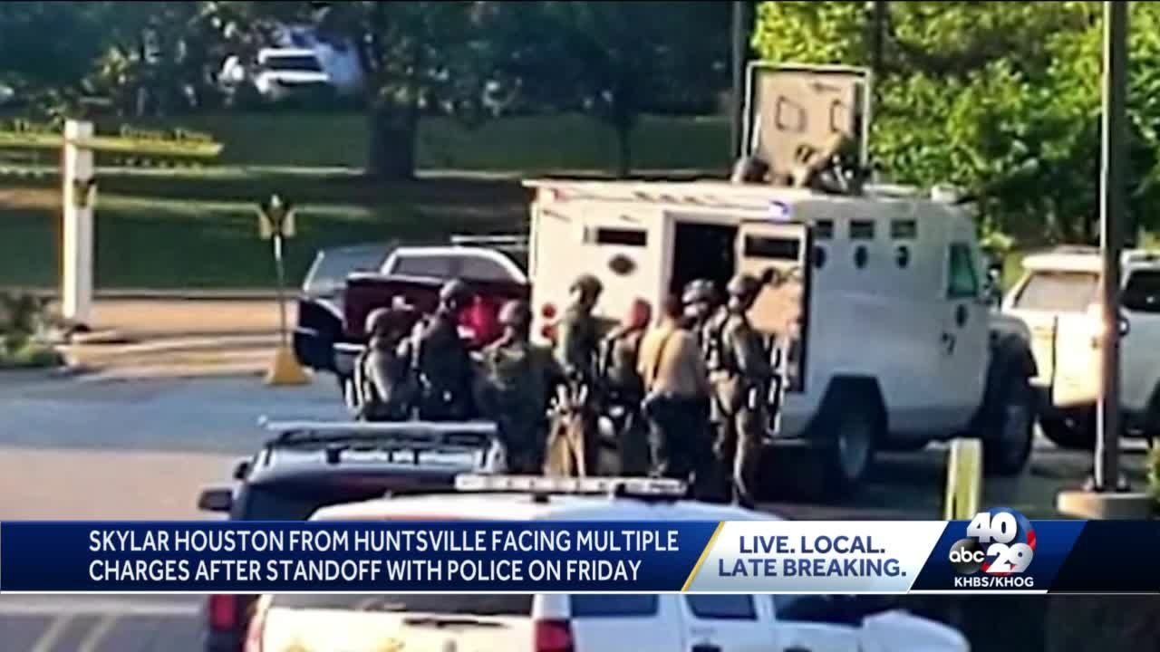 Fayetteville officers on paid leave after shooting man with gun near furniture store
