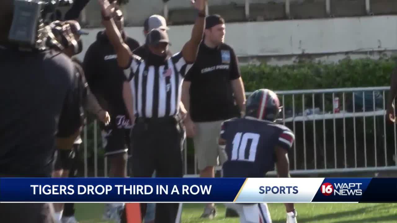 Jackson State FB suffers third straight loss