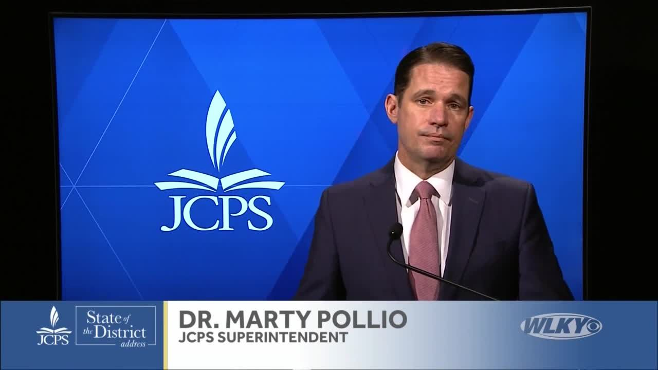 JCPS Dr. Pollio announces recommended school reopening dates