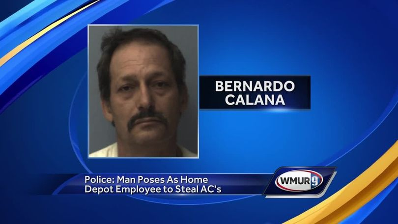 Man accused of posing as Home Depot employee, stealing air conditioners