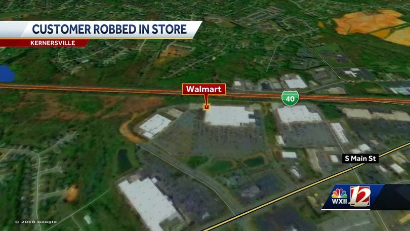Man robs customer at self-checkout lanes inside Kernersville