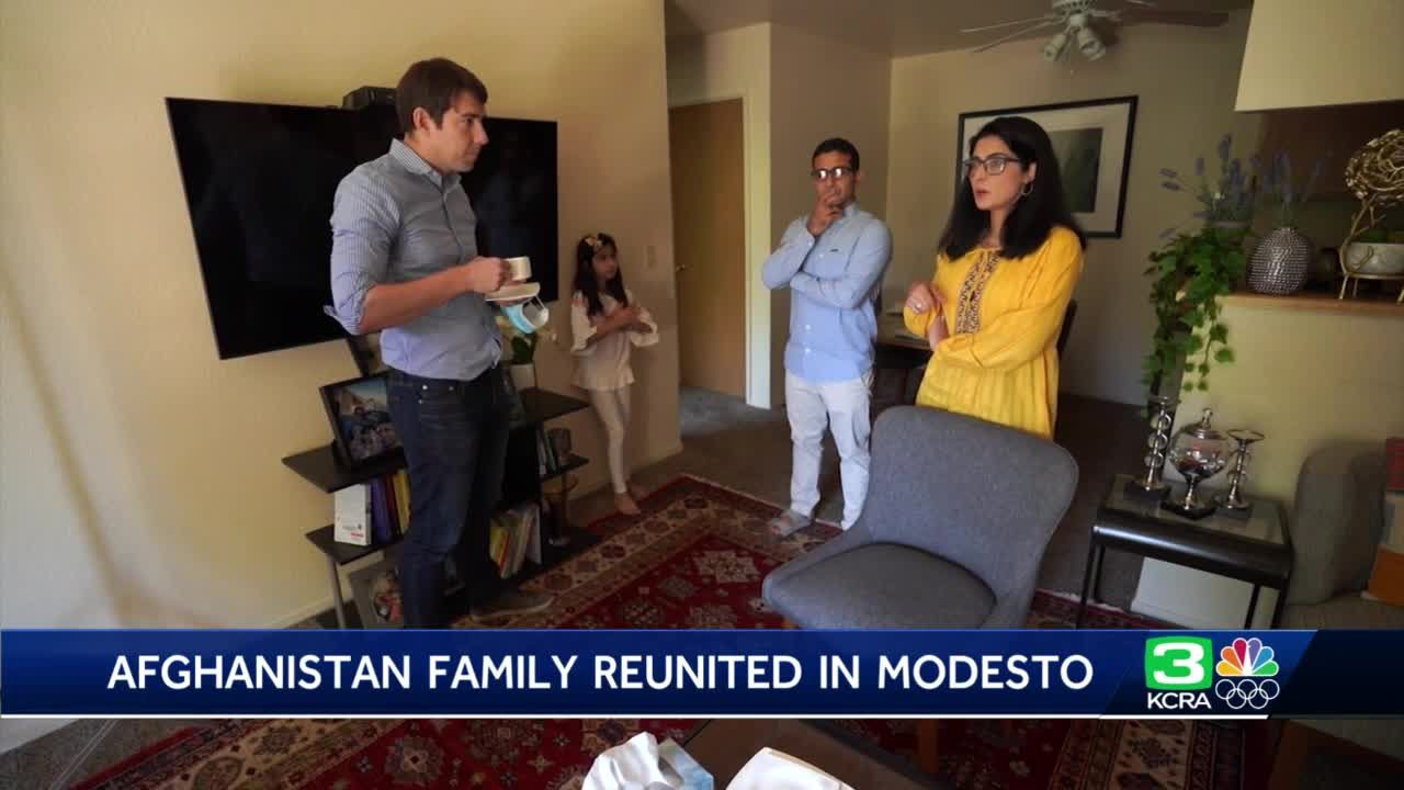 Modesto couple describes harrowing tale of reuniting after working for U.S. while in Afghanistan