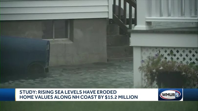 Study: Seacoast home values fall by $15 2M due to rising sea levels