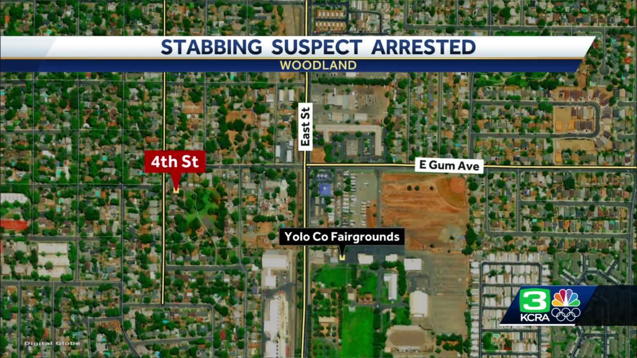 Woman arrested after stabbing another woman in Woodland, police say