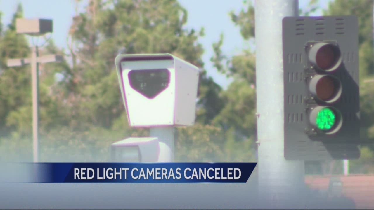 Stockton red light cameras turned off