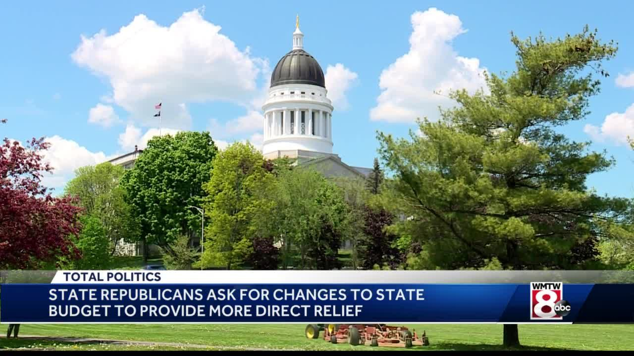 Maine Republicans present budget proposals for forecasted revenue surplus