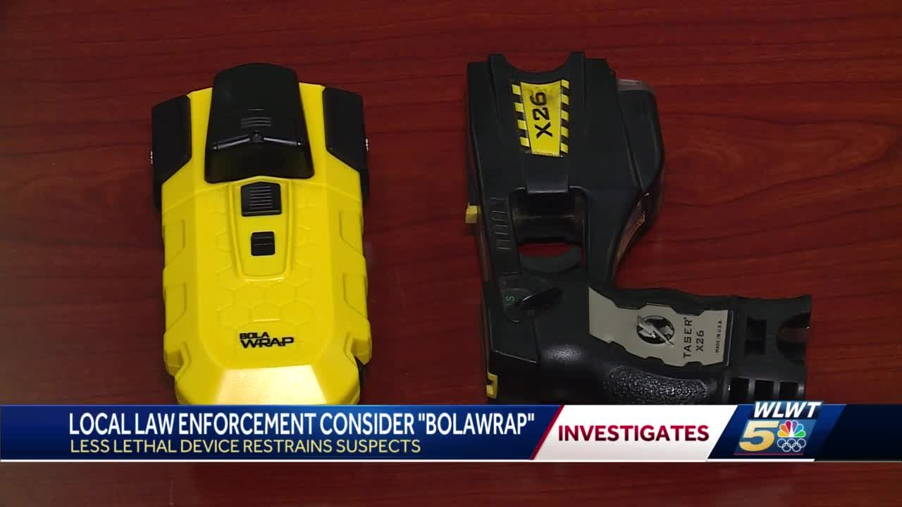 Greater Cincinnati police officers consider using device to get out of tense confrontations without using deadly force
