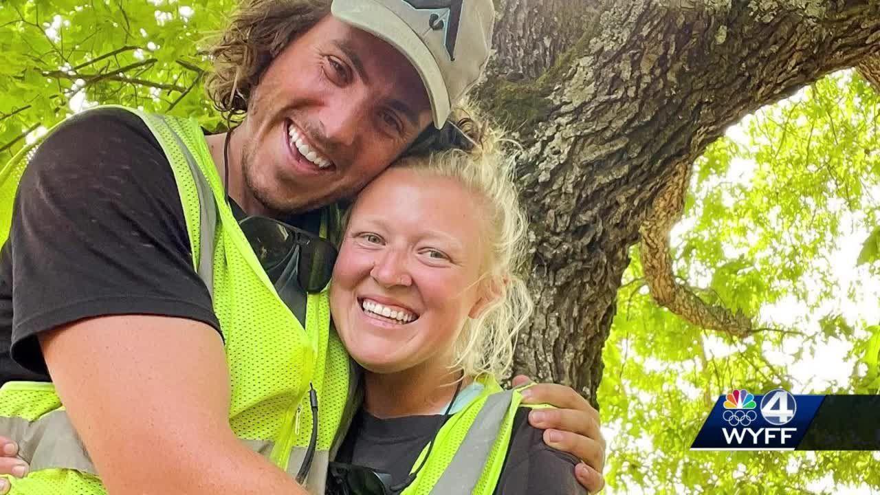 Couple walks from California to South Carolina