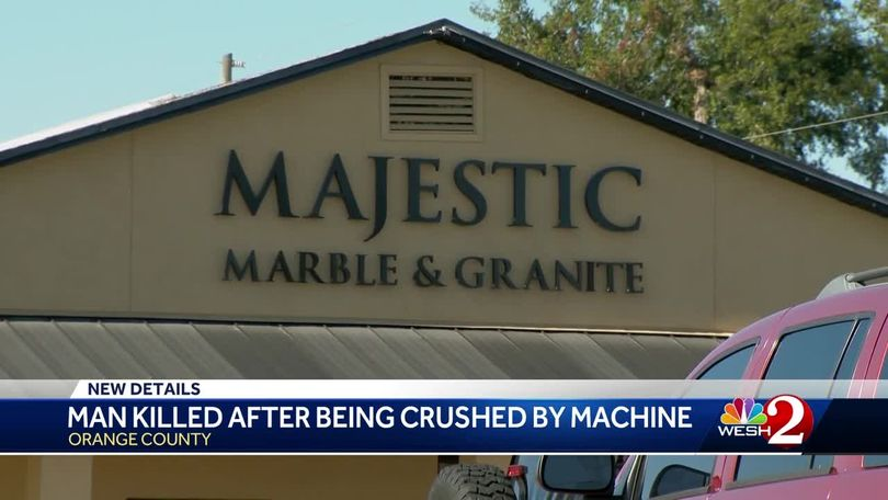 Worker killed in industrial accident at Orange County marble