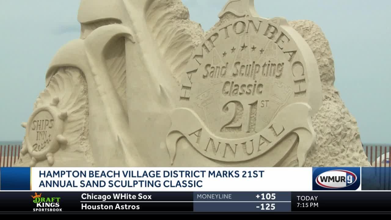 Hampton Beach Village District marks 21st annual Sand Sculpting Classic