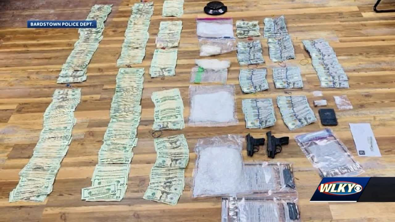 Bardstown biggest bust yet nabs 4 for trafficking $30k worth in meth