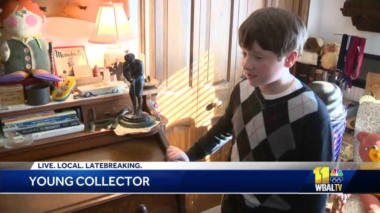 There's all kinds of good stuff': Meet Carroll County's 10-year-old antique collector