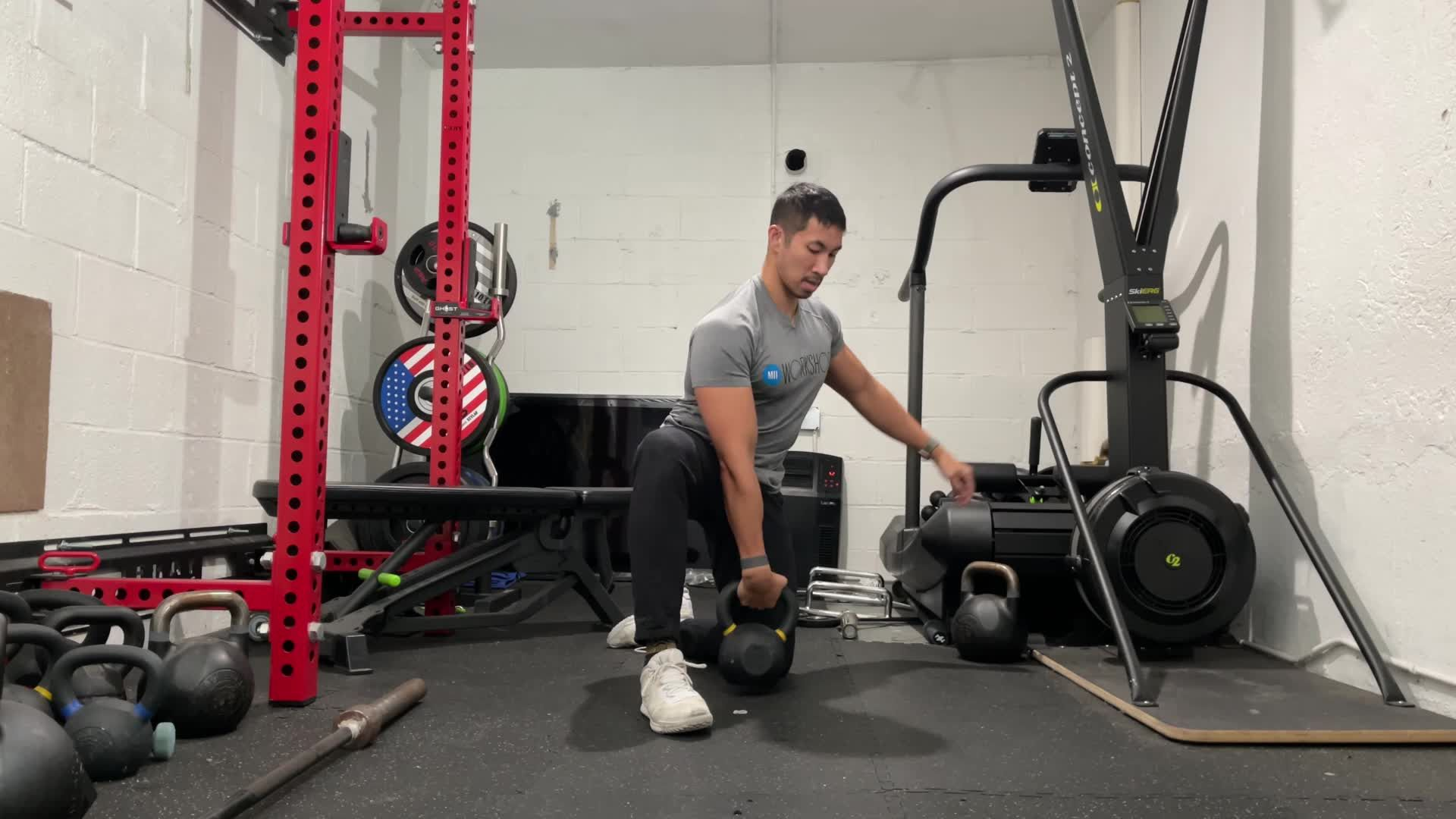 This Kettlebell Series Hits Every Part of Your Shoulders