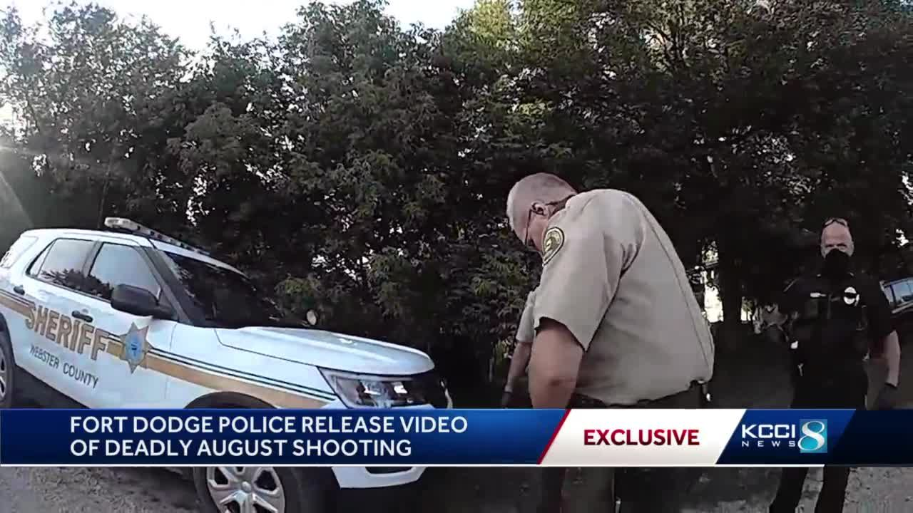 Footage from police shows 'justified' shooting of Fort Dodge woman