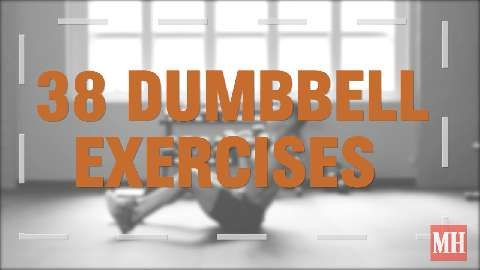 38 Dumbbell Exercises That You've Probably Never Seen
