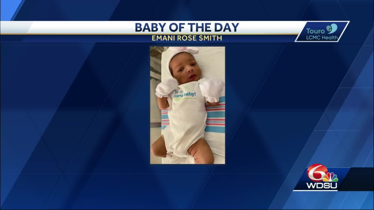 WDSU Baby of the Day for November 24, 2020