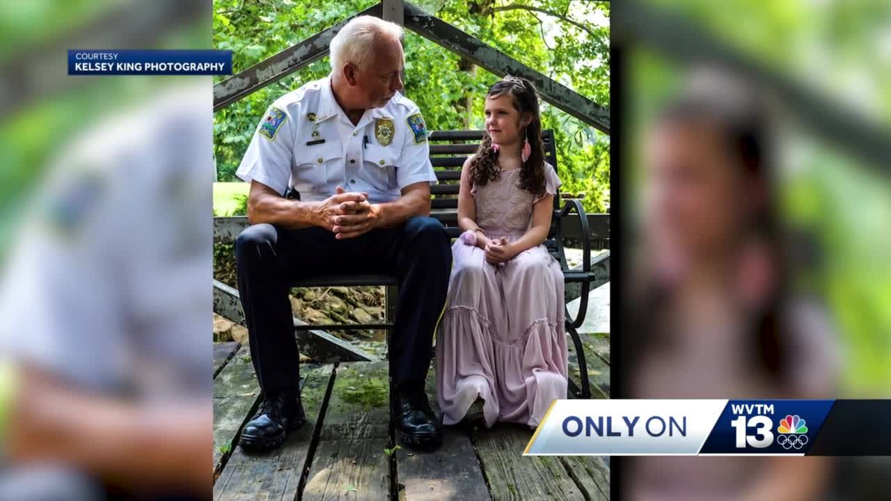 Alabama police chief surprised at retirement party by abducted girl he rescued