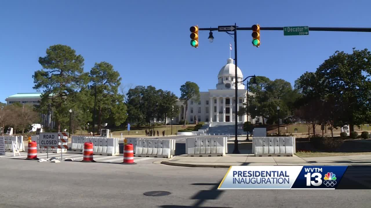 Quiet Inauguration Day in Montgomery
