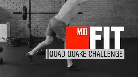 The Quad Quake Workout
