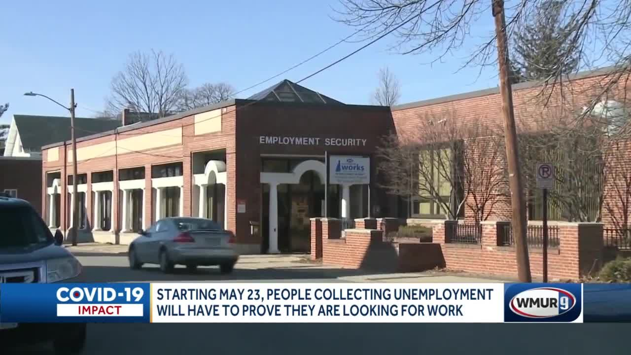 People collecting unemployment will once again have to prove they're looking for work