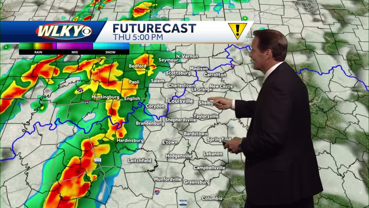 Rain chances return Thursday