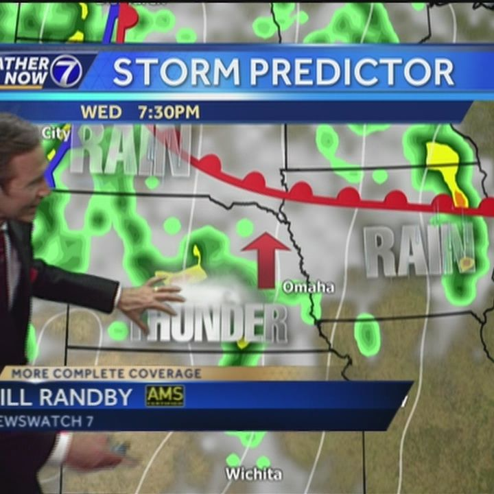 Bill says storms are possible Wednesday