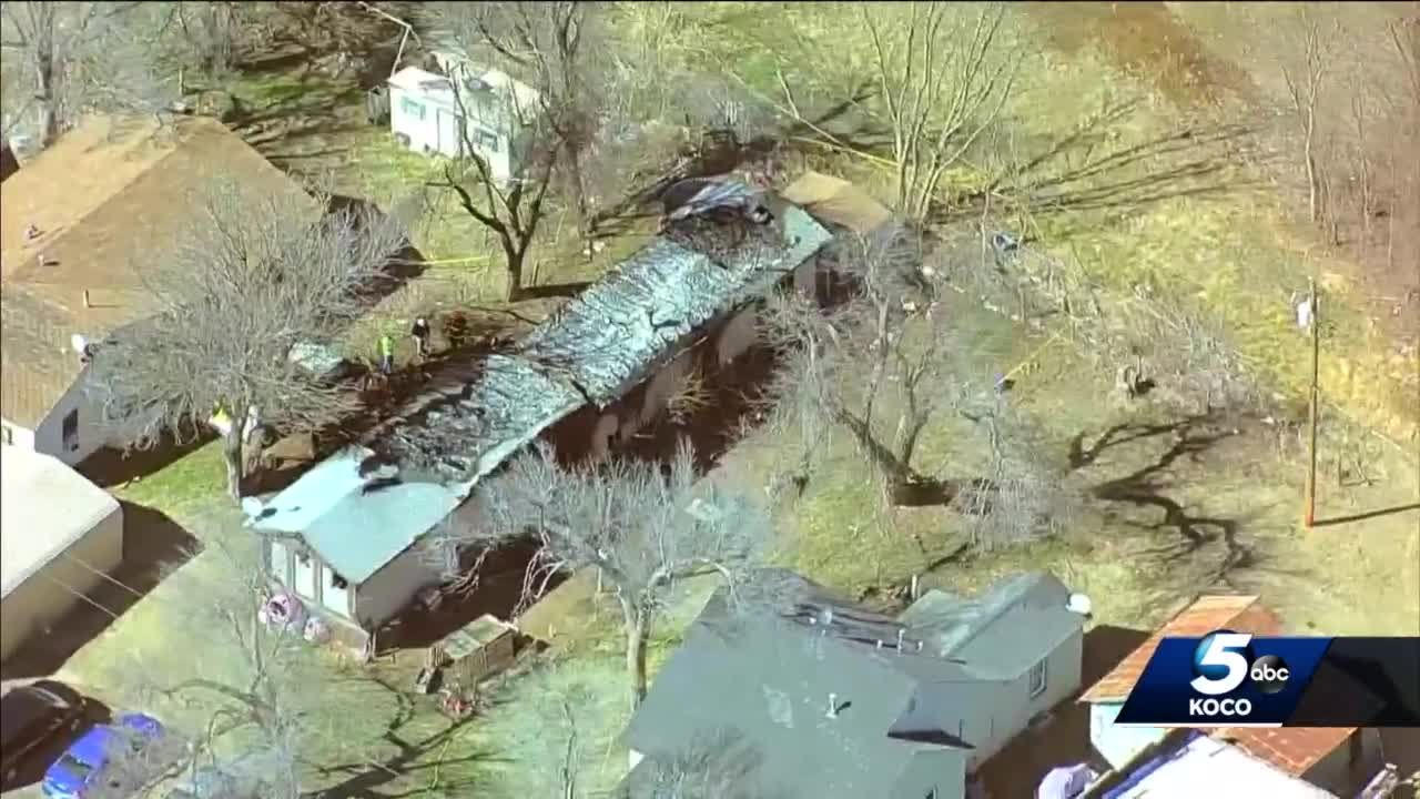 6 dead, juvenile saved after intense fire sparks at Woodward home