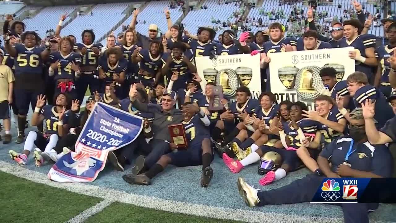 "Reidsville football wins 2A state title, completes ""three-peat"""