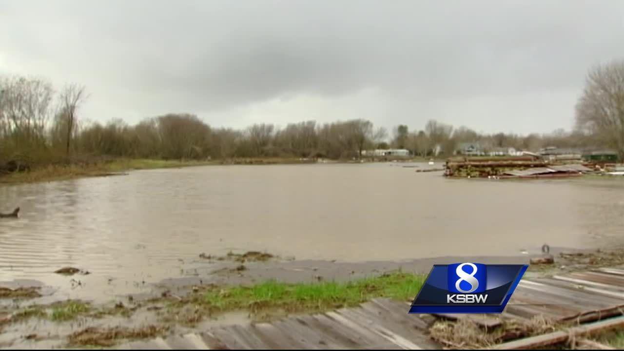 Hollister Neighborhood Underwater Again As Creek Floods