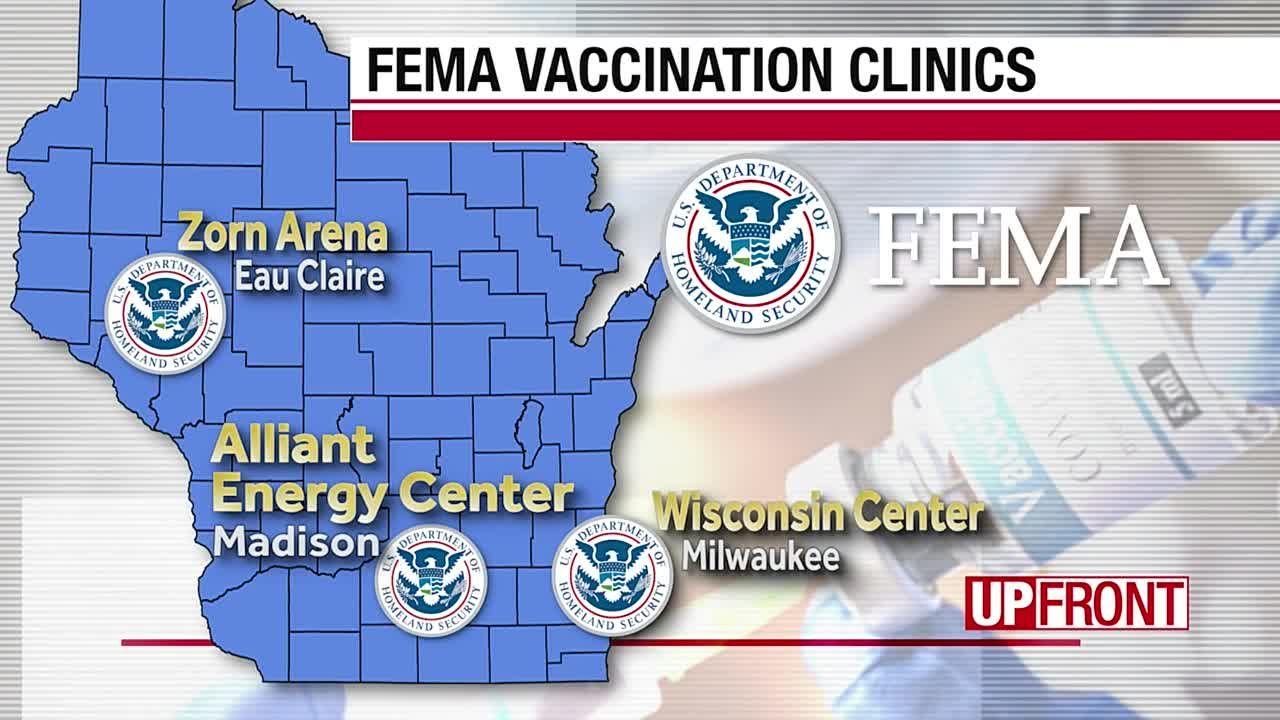 FEMA runs three centers in Wisconsin