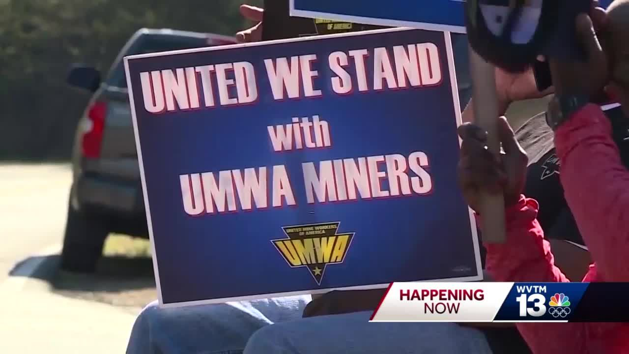 Alabama coal miners continue strike after contract rejected