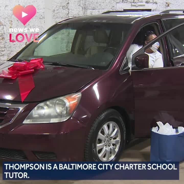 2 Baltimore-area moms get cars from Vehicles for Change