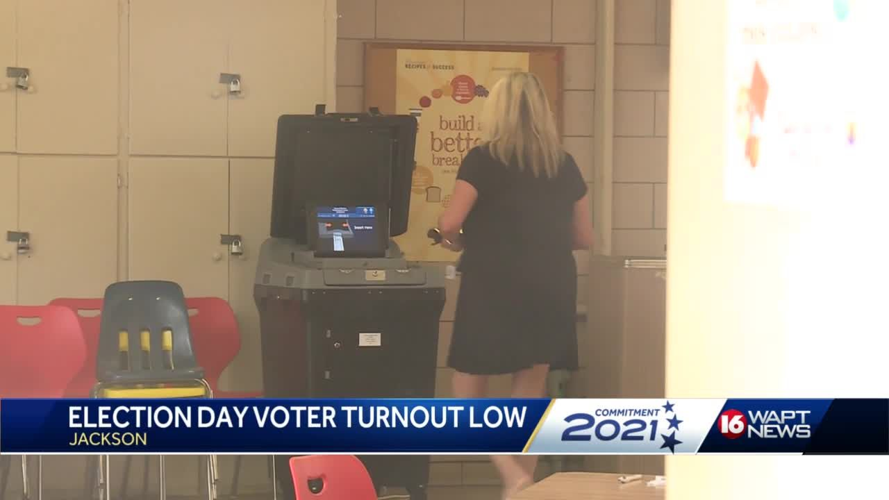 Low voter turnout reported