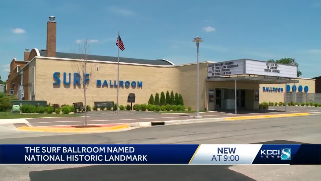 Iowa's Surf Ballroom designated National Historic Landmark