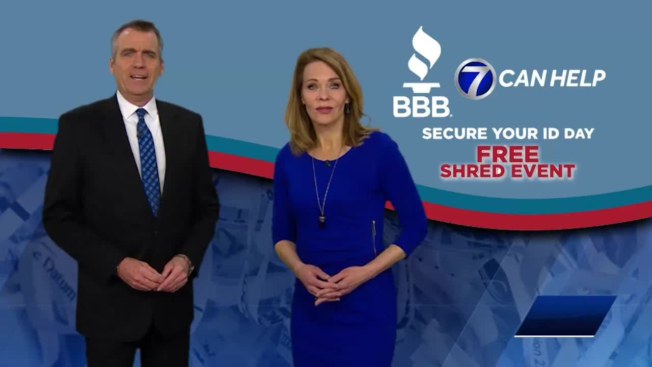 Secure your ID Shred It Event