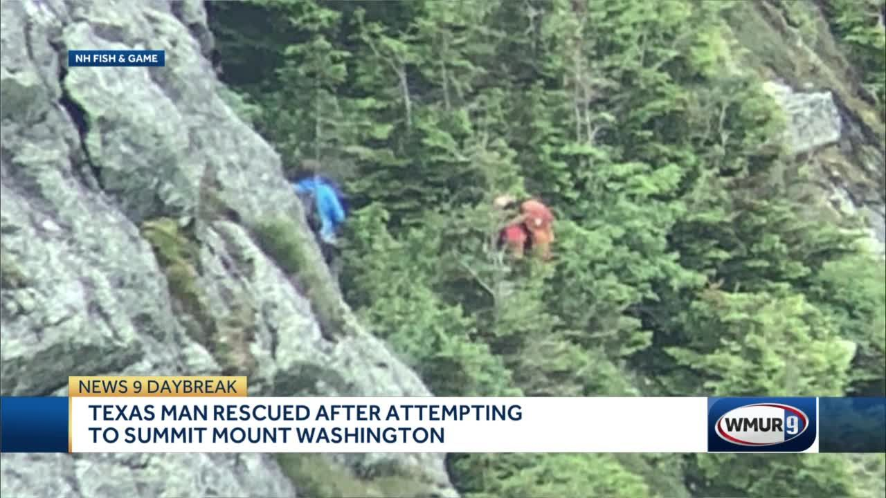 Texas man rescued after attempting to summit Mount Washington
