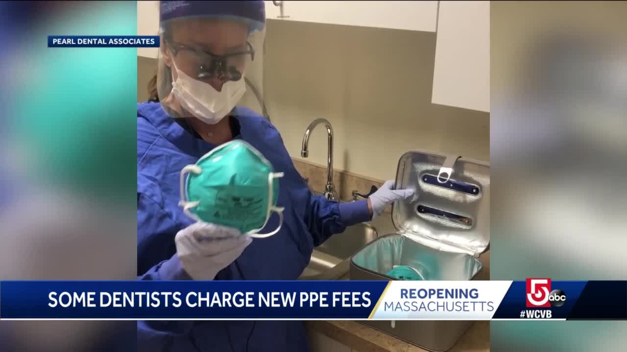 Some Dentists Charging New Fees For Protective Equipment Required